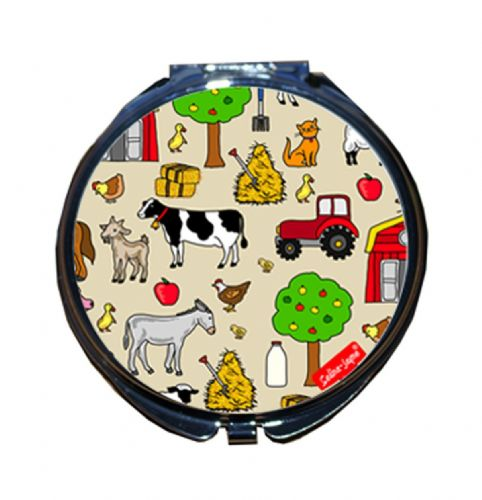Selina-Jayne Farmer Limited Edition Compact Mirror